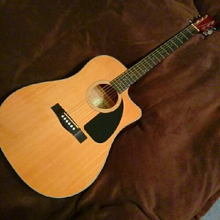 フェンダー(Fender)のエレアコ アコギ fender CD60CE NAT-DS-V2(アコースティックギター)