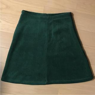 ニコルクラブ(NICOLE CLUB)のニコルクラブ  厚手 冬物 あったかスカート(ミニスカート)