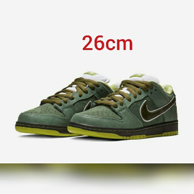 NIKE(ナイキ)のNIKE SB DUNK LOW GREEN LOBSTER メンズの靴/シューズ(スニーカー)の商品写真