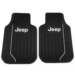 ジープ(Jeep)のJeepフロアーマットセット ジープラングラーなどに 汎用タイプ(車内アクセサリ)
