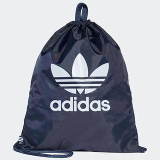 アディダス(adidas)の【新品】アディダスオリジナルス♡ジムバック巾着リュックジムバッグトレフォイル(バッグパック/リュック)