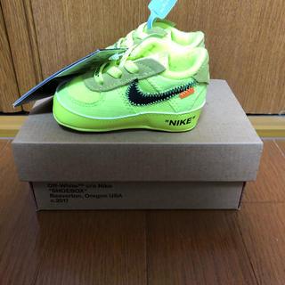 ナイキ(NIKE)の国内正規 Nike the 10 air force 1 off white(スニーカー)