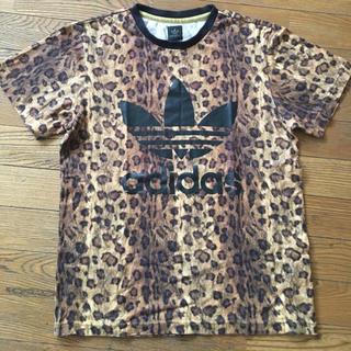アディダス(adidas)のアディダス adidas レオパード 豹柄 Tシャツ S 美品(Tシャツ/カットソー(半袖/袖なし))