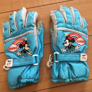 ディズニー(Disney)のキッズ 手袋 スノーグローブ  ミニー(手袋)