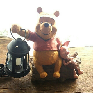 ディズニー(Disney)のくまのプーさん セトクラフト ランプ(置物)