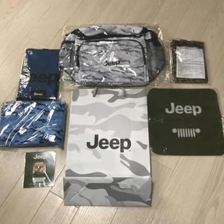 ジープ(Jeep)の新品未使用 ジープJEEPグッズ7点セット(車外アクセサリ)