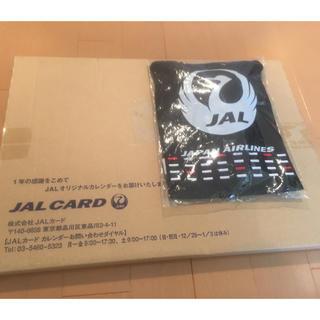 ジャル(ニホンコウクウ)(JAL(日本航空))の【新品】【JAL】FLEETS CALENDAR 2019(カレンダー/スケジュール)
