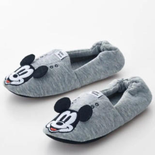 ディズニー(Disney)のミッキー 子供用 キッズ ルームシューズ スリッパ(スリッパ)