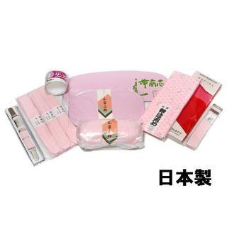 着付け小物11点セット 日本製 帯枕、前板、後板、衿芯、着物ベルト 便利(その他)