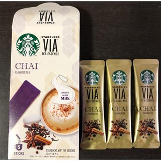 スターバックスコーヒー(Starbucks Coffee)のスターバックス 福袋 チャイティー 3本(茶)