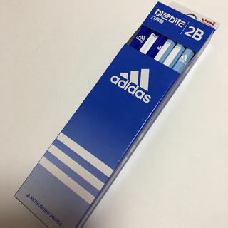 アディダス(adidas)の【新品】アディダス かきかた鉛筆 ブルー(鉛筆)