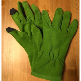 モンベル(mont bell)のモンベルシャミース手袋男性Lタッチパネル対応インナーグローブとしても使用可能(手袋)