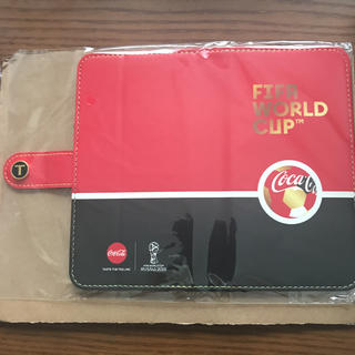コカコーラ(コカ・コーラ)のFIFA WORLD CUP スマホ ケース コカコーラ 非売品(スマホケース)