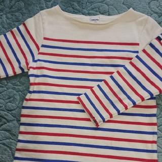 シップスキッズ(SHIPS KIDS)のシップスSHIPS八分Tシャツ 120cm(Tシャツ/カットソー)