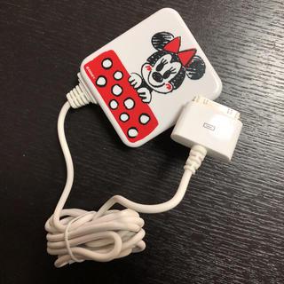 ディズニー(Disney)のiPod 充電器(バッテリー/充電器)