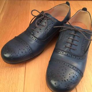 サヤ(SAYA)のSAYA サヤ レースアップシューズ ウイングチップ おじ靴(ローファー/革靴)