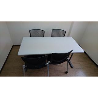 ミーティングテーブル (椅子)(オフィス/パソコンデスク)