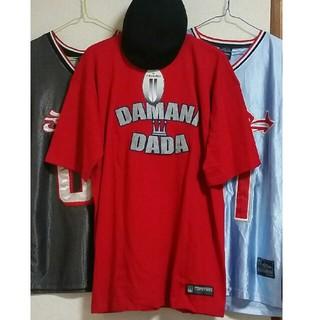 ダダ(DADA)の[新品、レア物] DAMANI DADA 赤 Tシャツ(Tシャツ/カットソー(半袖/袖なし))