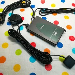 軽登録 シガー電源 三菱電機 EP-9U42 ETC車載器 mr04(ETC)