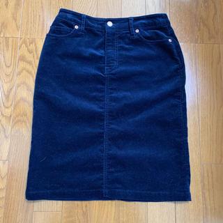 ムジルシリョウヒン(MUJI (無印良品))のコーデュロイ スカート(ひざ丈スカート)