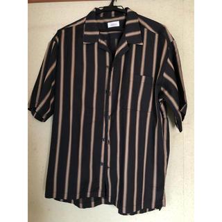 ジュンレッド(JUNRED)のマルチストライプオープンカラーシャツ JUNRed(シャツ)