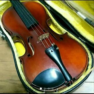 高級 バイオリン 鈴木 No.240 証明ラベル有、弓ケースセット 定価7万円