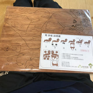 台湾の馬の模型作り(模型製作用品)