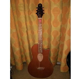 イーエスピー(ESP)のbambooin アコースティックギター 専用ケース付き(アコースティックギター)