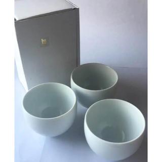 白山陶器 - 【新品】白山陶器 MAYU煎茶(小) 白磁 3客セット