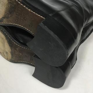 サルトル(SARTORE)の37 SARTORE サルトル  シングルベルト ロングブーツ 黒(ブーツ)