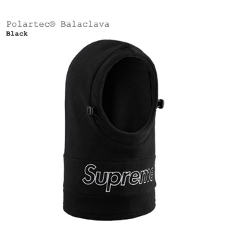 シュプリーム(Supreme)のsupreme polatec balaclava black(その他)