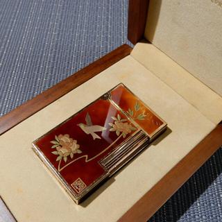 エステーデュポン(S.T. Dupont)のデュポンライター、金蒔絵(タバコグッズ)