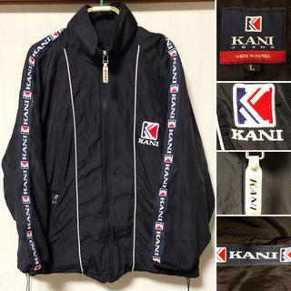 カールカナイ(Karl Kani)の90s KARL KANI カール カナイ デカロゴ ナイロンジャケット(ナイロンジャケット)