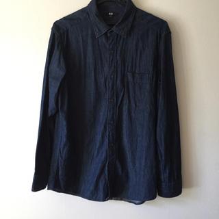 ユニクロ(UNIQLO)のユニクロ  デニムシャツ((最終値下げ!!))(シャツ)