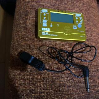 コルグ(KORG)の電子チューナーとチューナーマイクのセット(その他)