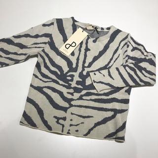 ボボチョース(bobo chose)の◆ SALE ◆ POPUP zebra knit 2-3years(ニット)