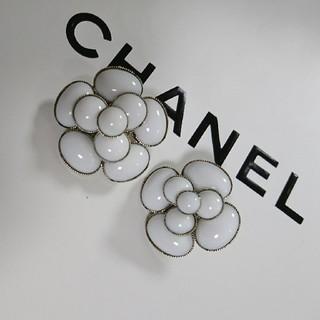 シャネル(CHANEL)の正規品!新品未使用♡CHANEL1998年 クルーズライン イヤリング カメリア(イヤリング)