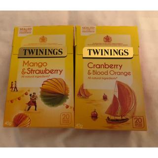 トワイニング Twinings ロンドン イギリス 限定 フルーツティ 紅茶(茶)