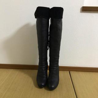 ミュウミュウ(miumiu)のミュウミュウ ロング ニーハイブーツ訳あり価格(ブーツ)