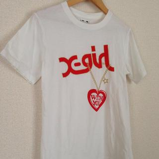 エックスガール(X-girl)のx-girl@ロゴTシャツ(Tシャツ(半袖/袖なし))