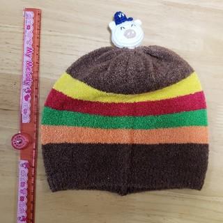 スーパーブーホームズ(SUPER BOO HOMES)のブーフーウーのベビー帽子Sサイズ(未使用)(帽子)