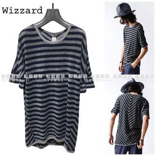 ウィザード(Wizzard)のWizzard PILE BORDER DOLMAN(Tシャツ/カットソー(半袖/袖なし))