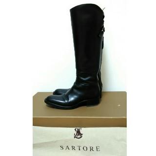 サルトル(SARTORE)のSARTOREサルトル レザーロングブーツ36(ブーツ)
