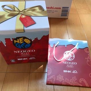 ネオジオ(NEOGEO)のNEOGEO mini クリスマス限定版 Christmas ネオジオ(家庭用ゲーム本体)