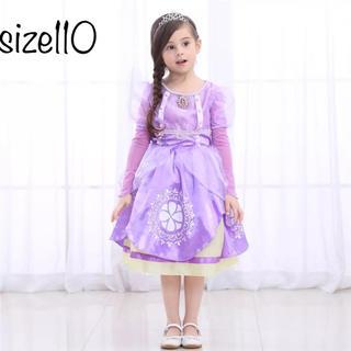 ディズニー(Disney)のソフィア プリンセスドレス 小さなプリンセスソフィア❤️サイズ110(ドレス/フォーマル)