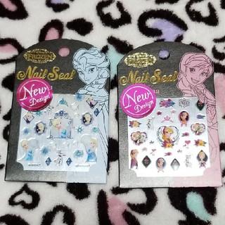 ディズニー(Disney)の☆SALE☆アナ&エルサ ネイルシール(ネイル用品)