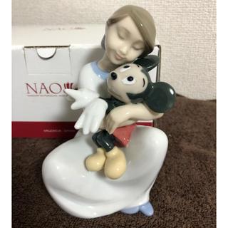 ディズニー(Disney)のリヤドロ NAO ディズニーコレクション 大好きミッキー‼︎(置物)