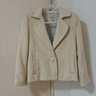 アンナケリー(Anna Kerry)のジャケットコート(ホワイト)(その他)