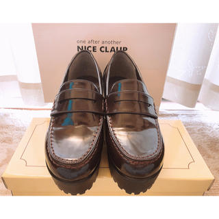ワンアフターアナザーナイスクラップ(one after another NICE CLAUP)のNICE CLAUP 厚底ローファー(ローファー/革靴)
