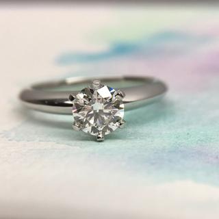 ティファニー(Tiffany & Co.)のティファニー 0.75ct 3EX IF 最高品質 ソリティア ダイヤリング(リング(指輪))